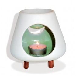 Brûle-parfum en céramique Volcan
