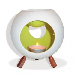 Brûle-parfum en céramique Boule