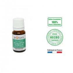 Huile essentielle BIO d'Eucalyptus globulus 100% pure et naturelle, 10 ml