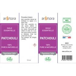 Huile essentielle de Patchouli 100% pure et naturelle, 10ml