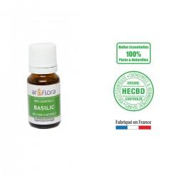 Huile essentielle BIO de Basilic 100% pure et naturelle, 10ml