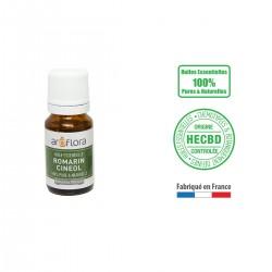 Huile essentielle BIO de Romarin Cinéole 100% pure et naturelle, 10ml
