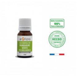 Huile essentielle BIO de Mandarine verte 100% pure et naturelle, 10ml