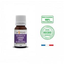 Huile essentielle BIO de Lavande vraie 100% pure et naturelle, 10ml