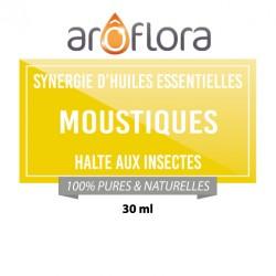 MOUSTIQUE : Synergie d'huiles essentielles 30 ml