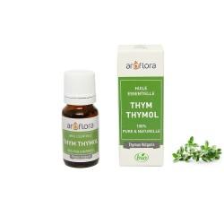 Huile essentielle BIO de Thym Thymol 100% pure et naturelle, 10ml