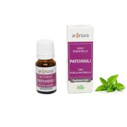 Huile essentielle BIO de Patchouli 100% pure et naturelle, 10ml