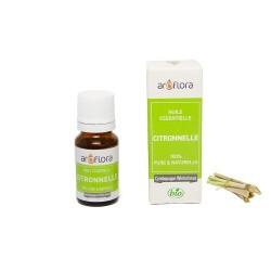 Huile essentielle BIO de Citronnelle 100% pure et naturelle, 10ml